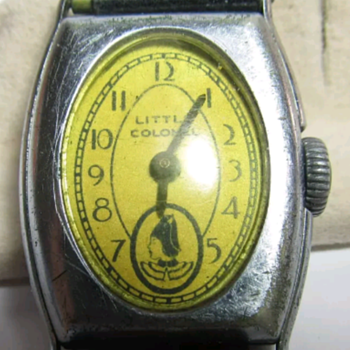 "Shirley Temple ""Little Colonel"" wristwatch - Wristwatches"