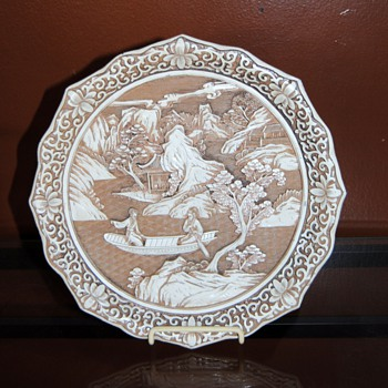 A beautiful plate with a beautiful pictur. The picture seem's peaceful. - China and Dinnerware