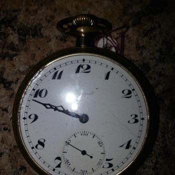 Ingersoll 17 Jewel Pocket Watch
