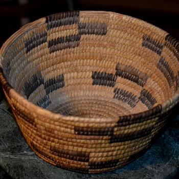 California Indian Basket - Native American