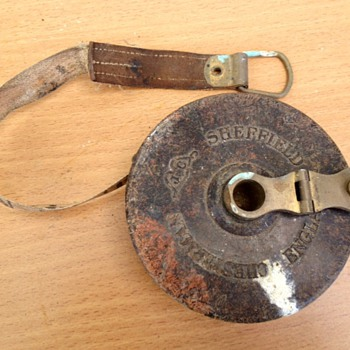 Old Chesterman Measuring Tape - Sheffield England