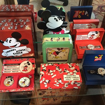 Reproduction Ingersoll Mickey Mouse Timepieces