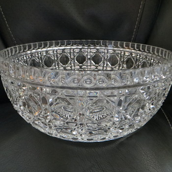 Crystal Glass Bowl - Glassware