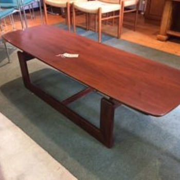 Help Identifying this 20th Century Coffee Table
