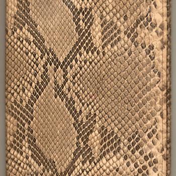Genuine Snake Skin Book Cover