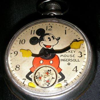 Mickey Mouse Pocket Watch - Pocket Watches