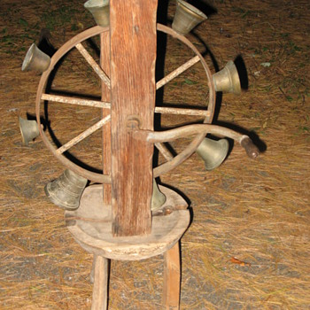 Bell Wheel Curious New England Item - Tools and Hardware