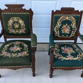Beautiful King and Queen Chairs