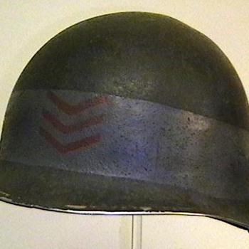 U.S. Navy Petty Officer D Day Helmet