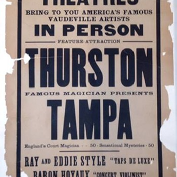 Tampa the Magician - Tent Show (1930) - Posters and Prints