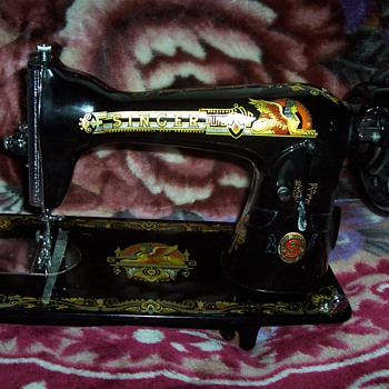 Singer Sewing Machine. Real,or Knock? Not for sale - Sewing