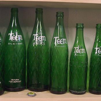 TEEM soda bottles! - Bottles