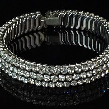 AIRFLEX Expansion Rhinestone Choker - Company Info? - Costume Jewelry