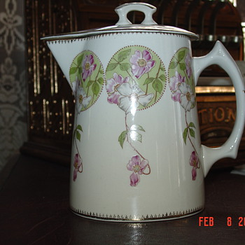 A True Antique...1901-1909 Chocolate Pot By Edwin M. Knowles - China and Dinnerware