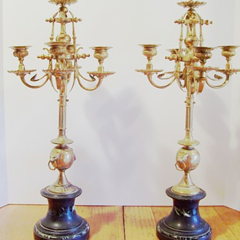 French Table Candleabra
