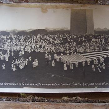 1925 KKK Washington D.C. yard long photo - Photographs
