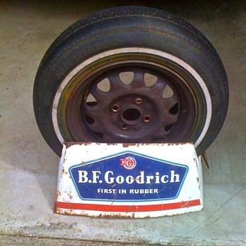 BF Goodrich Tire display - Advertising