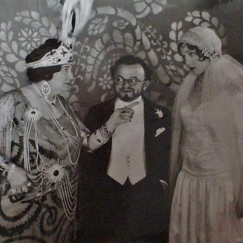 "Original Photo Anne Nichols ""Abie's Irish Rose"" Movie 1928 - Photographs"