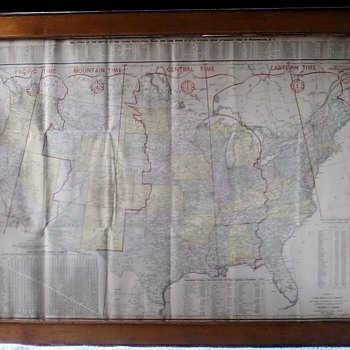 Map from 1920 - Paper