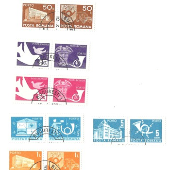 Romania Postage Stamps - Stamps