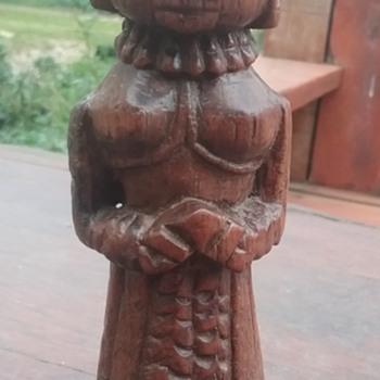 Stump doll - Folk Art