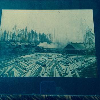 River logging - Photographs