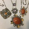 Arts & Craft necklaces by Amy Sandheim