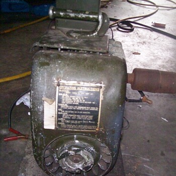 a 1944 signal corps issued onan generator
