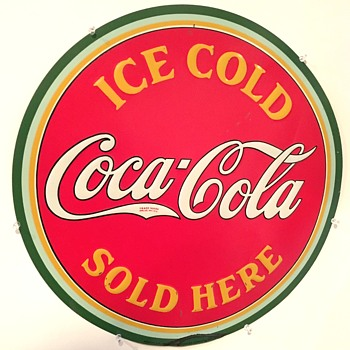 1938 Coca-Cola Sign - Coca-Cola