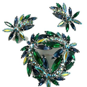 Grandmother's Sherman Set - Costume Jewelry