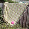 Welsh wool shoulder shawl