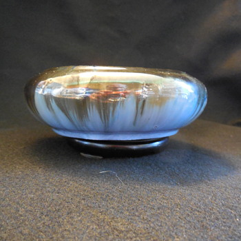 Fulper Pottery Low Bowl Estate Sale Find - Pottery