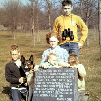 Family connection to the Sioux Uprising - Photographs