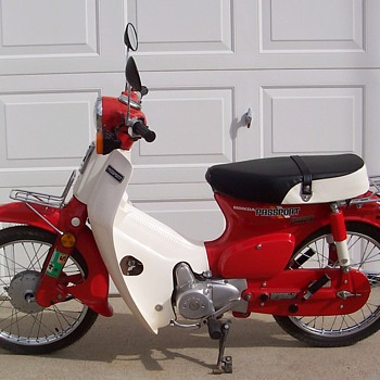 1982 Honda C70 Passport - Motorcycles