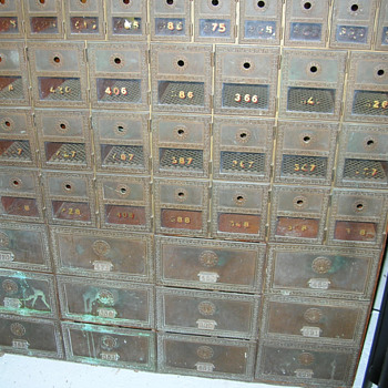 Post Office Box Unit - Office