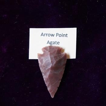 Agate Arrow Point