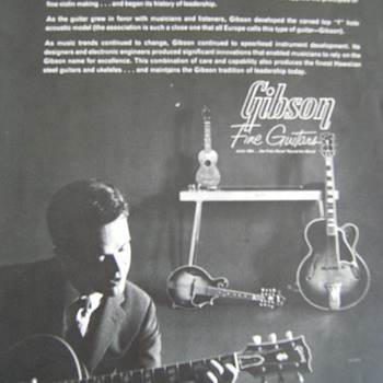 Vintage Gibson Guitar Catalog, 1 of 3
