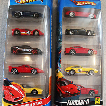 Hot wheels 5 packs and Miatas - Model Cars