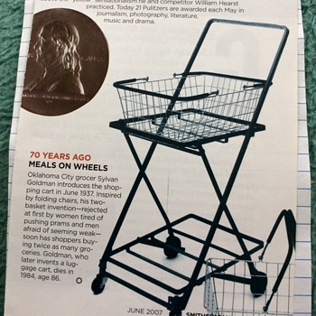 Shopping Cart on Wheels -- Origin - Tools and Hardware