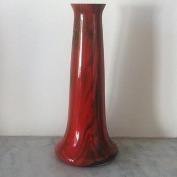 Kralik aventurine tango vase - Art Glass