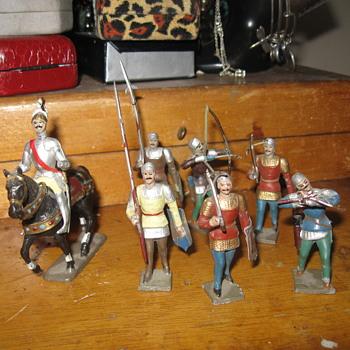 Lead Figurines - Toys
