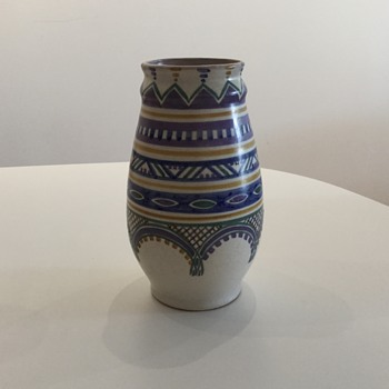 POOLE POTTERY VASE c.1930 - Art Deco