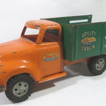 Tonka Utility Stake Truck - Model Cars