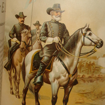 GENERAL LEE DIRECTING THE BATTLE