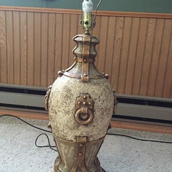 Spanish type lamp from Monterey Art Studio 1970