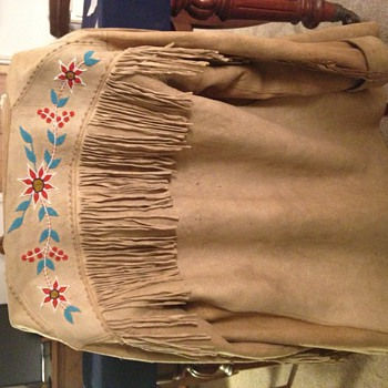 Grandfathers's Native American Jacket - Mens Clothing