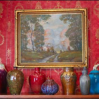 Painting Plus Pots - Fine Art