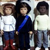My collection of Trendon and Götz era Sasha and Gregor dolls