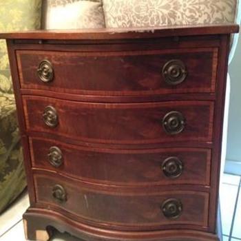 Vintage Bachelor Chest - Furniture
