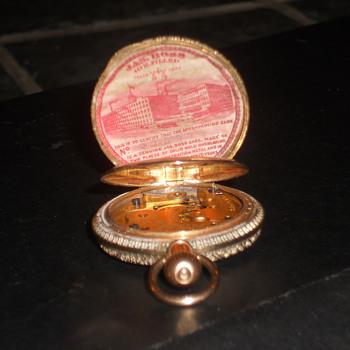 Elgin jas boss pocket watch - Pocket Watches